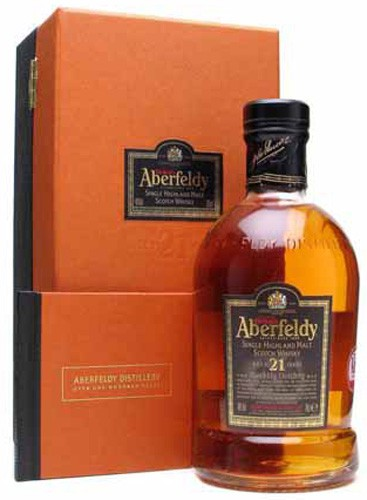 Aberfeldy-21yr Single Highland Malt Scotch Whisky