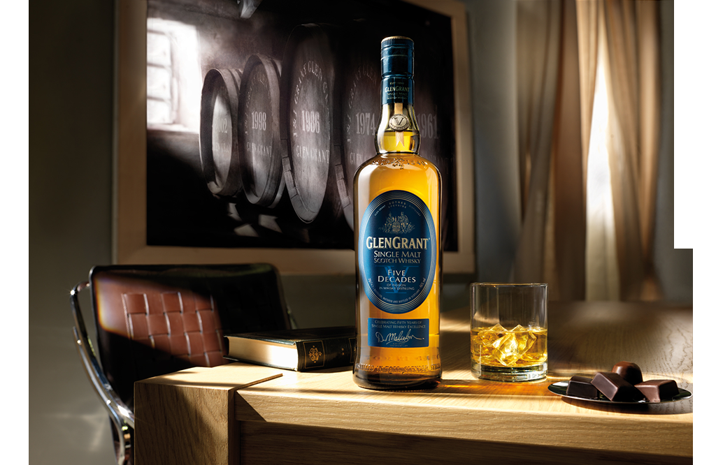 Glen Grant Five Decades, Single Malt Scotch Whisky