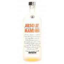 Absolut Mandrin, Imported Vodka 1.75L
