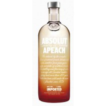 Absolut Apeach, Imported Vodka 1L