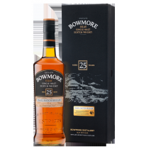 Bowmore Aged 25 Years, Small Batch Release, Islay Single Malt Scotch Whisky