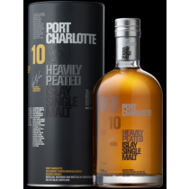 Bruichladdich - Port Charlotte The Ten Year Old (Aged 10 yrs), Heavy Peated Islay Single Malt Whisky
