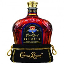 Crown Royal, Black, Robust, Full-Bodied Blended Canadian Whisky