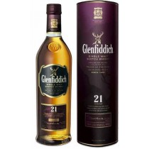 Glenfiddich, Single Malt Scotch Whisky, 21 Years Old