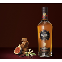 "Glenfiddich 21 Years Old ""Gran Reserva Rum Cask Finish"" Single Malt Scotch Whisky 750 Ml"