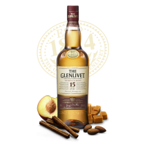 "The Glenlivet ""The French Oak Reserve"" 15 Years Old, Single Malt Scotch Whisky"