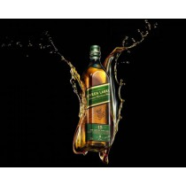 Johnnie Walker Green Label, Aged 15 years Vatted Malt Scotch Whisky (750 ml)