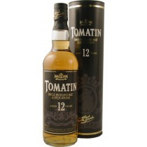 Tomatin Single Malt, Highland Scotch Whisky, 12 Years