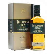 Tullamore D.E.W. 12 Year Old Special Reserve, Triple Distilled Irish Whiskey
